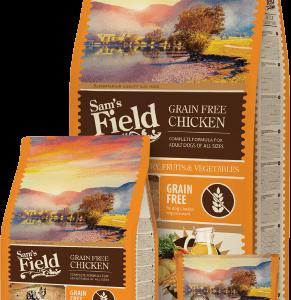 SAM'S FIELD Adult Grain Free Chicken