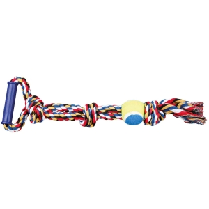 Cuerda de Juego con Pelota Tenis 50 cm